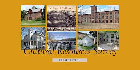 Philmont's Cultural Resources Survey tickets