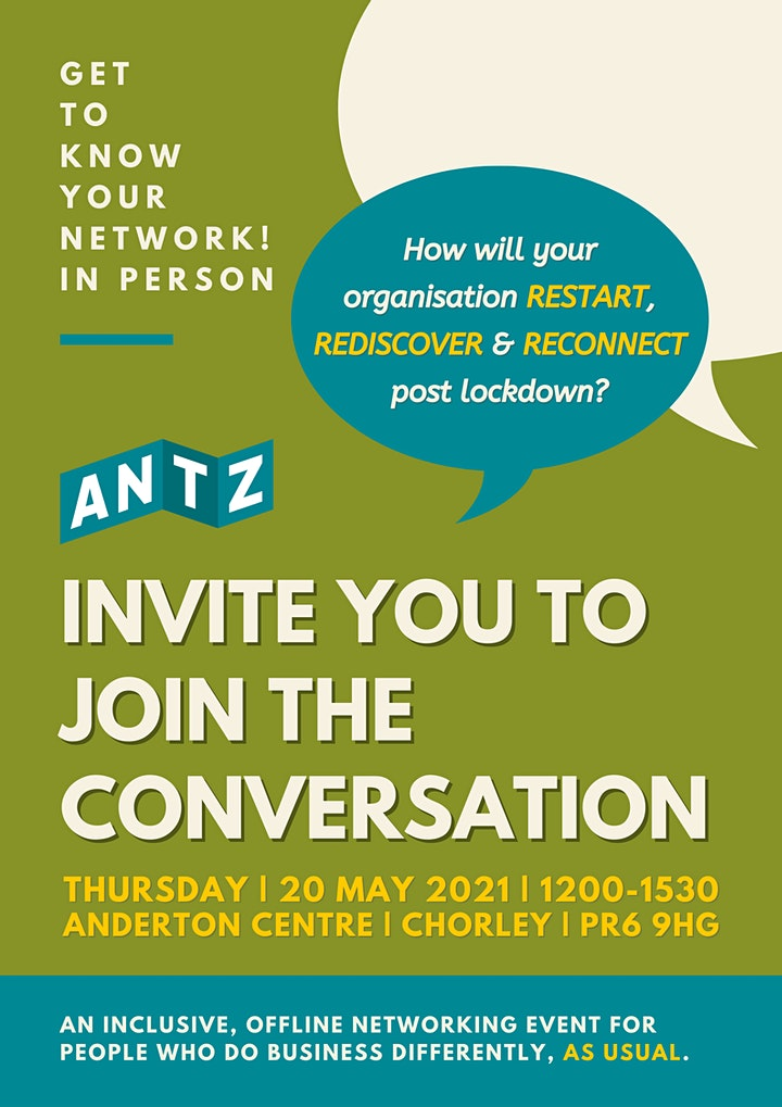 ANTZ: Get to Know YOUR Network! Join the Conversation 20 May 2021 image