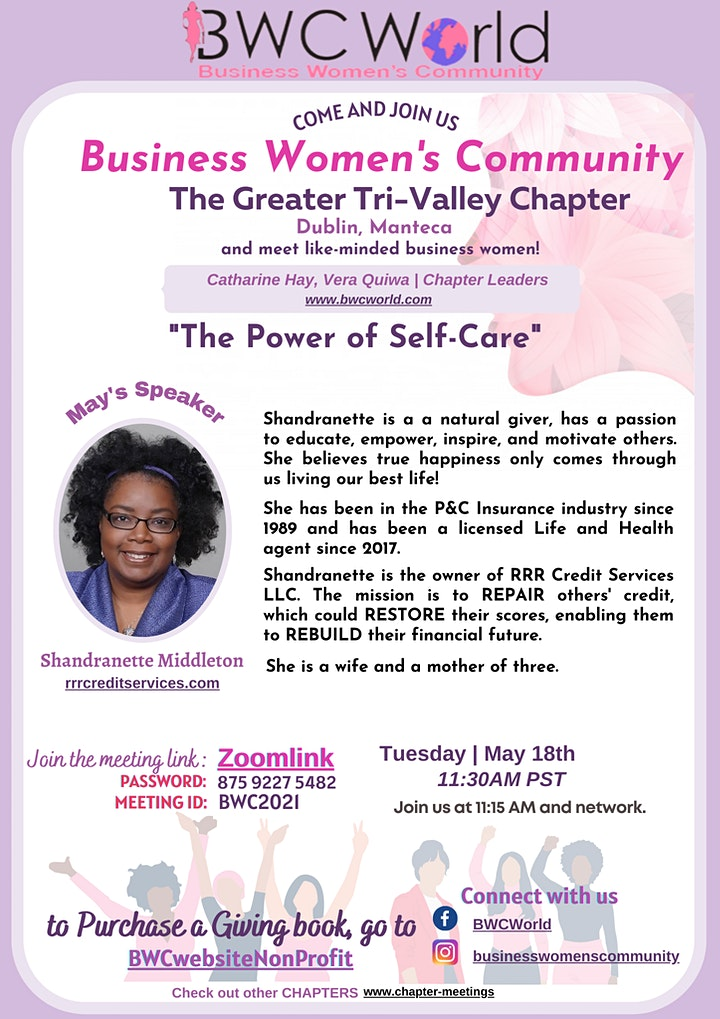 """""""The Power of Self-Care"""" by Business Women's Community image"""