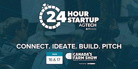 24 Hour Startup AgTech tickets