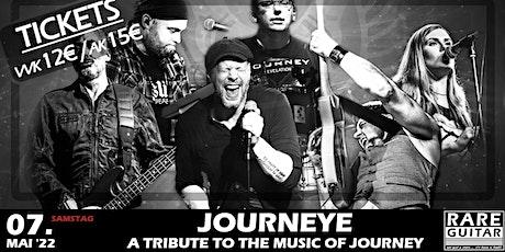 Journeye – Journey-Tribute Tickets