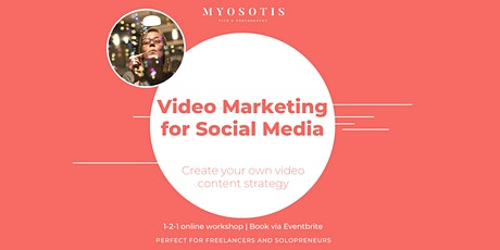 Video marketing strategy workshop (1-2-1) tickets