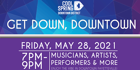 Get Down, Downtown Fayetteville tickets