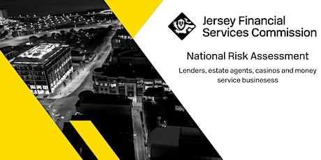 National Risk Assessment: Lenders, estate agents & money service businesses tickets