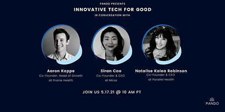 Clubhouse Event: Innovative Tech for Good tickets