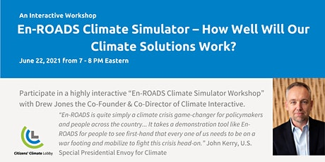 En-ROADS Climate Simulator Workshop tickets