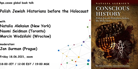 hps.cesee book talk: Aleksiun,Polish Jewish Historians before the Holocaust tickets