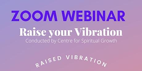 Raise your Vibration tickets