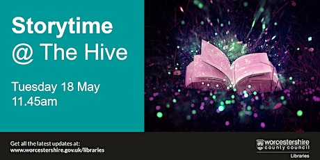 Storytime at The Hive tickets