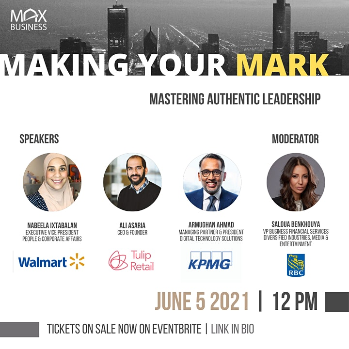 MAX Business - Making Your Mark - Mastering Authentic Leadership image
