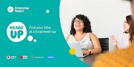 Online small business meet-up: Sheffield tickets