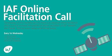 IAF Online Facilitation Satellite #5 tickets