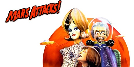 Mars Attacks! (1996) Upland Champagne Velvet Movie Series tickets