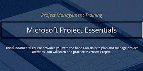 Microsoft Project Essentials [IN PERSON] tickets