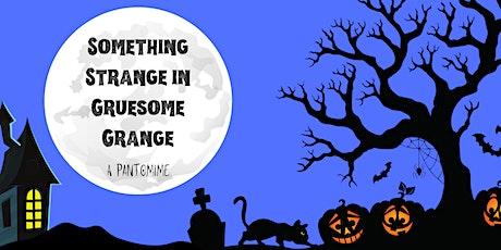 Something Strange in Gruesome Grange - A Pantomime  (Saturday Night) tickets