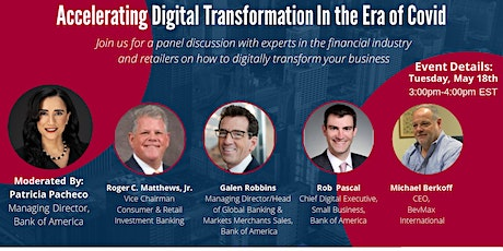 Accelerating Digital Transformation in the Era of Covid tickets