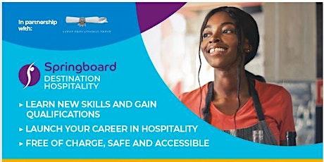 Webinar: Digital Training Programme: Destination Hospitality 16/30 Yr Olds tickets