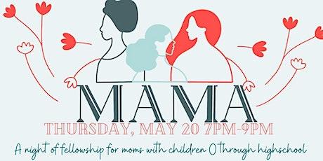 MAMA May Meeting tickets