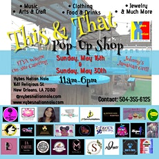 THIS & THAT Pop-up  Shop tickets