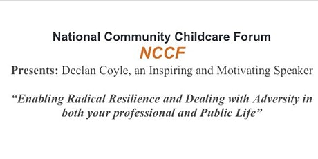 """Declan Coyle """"Enabling Radical Resilience and Dealing with Adversity"""" tickets"""