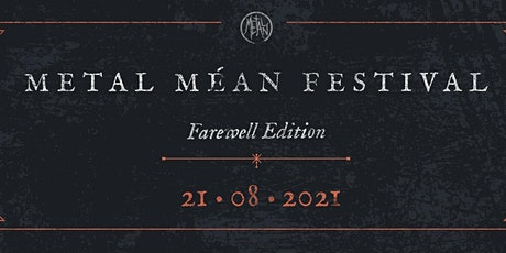 Metal Méan Festival 2021 billets