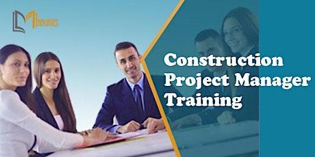 Construction Project Manager 2DaysVirtualLiveTraininginColorado Springs, CO tickets