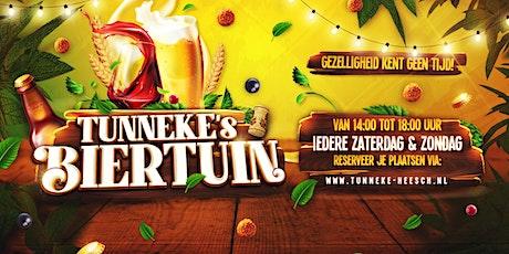 Tunneke's Biertuin zondag 16 Mei tickets