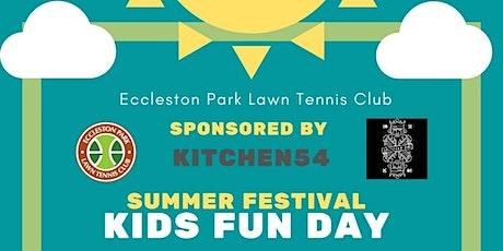 Eccleston Park Tennis Club Kids Fun Day tickets