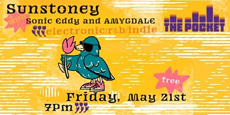 The Pocket Presents: Sunstoney w/Sonic Eddy & AMYGDALE tickets