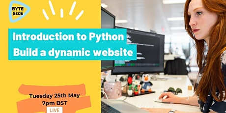 Introduction to Python - Build a dynamic website tickets