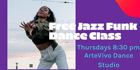 The Movement: Intro to Jazz Funk & Hip Hop [FREE CLASS] tickets