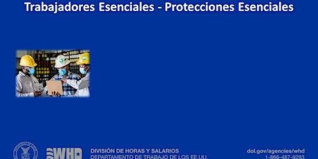 Trabajadores Esenciales Protecciones Esenciales tickets