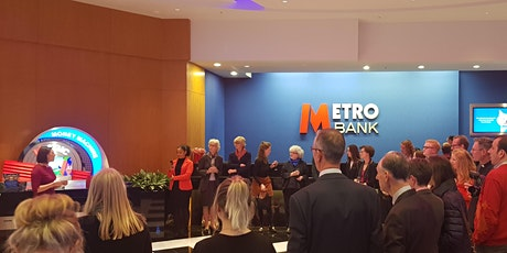 Metro Bank: Network & Learn.  Females Access to Finance tickets