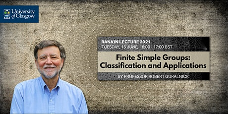 Rankin Lecture 2021 tickets