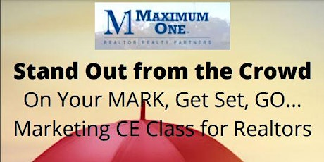 Marketing CE Class for Realtors Taught by Discovery Inspection tickets