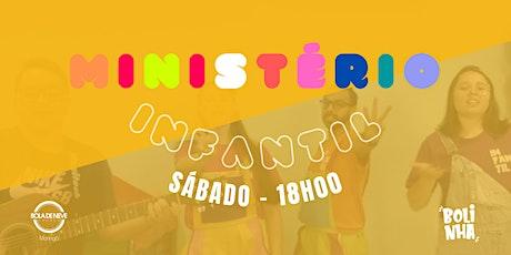 INFANTIL SÁBADO (15/05) 18H00 ingressos