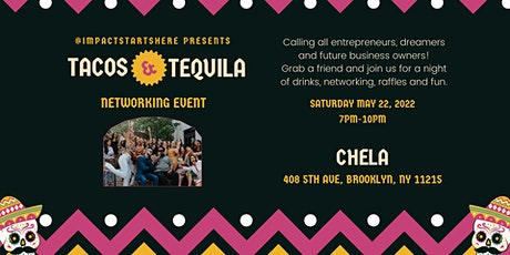 Tacos & Tequila Networking Event at Chela's tickets