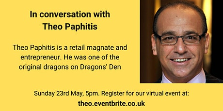 In conversation with Theo Paphitis tickets