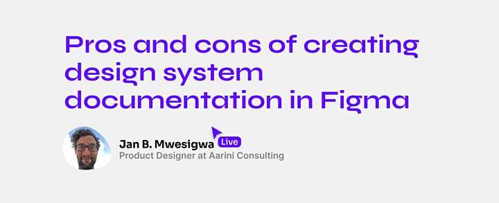Into Figma Design Systems  - Online Conference image