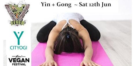 Free Yin & Gong bath - V Fest, Reading (WOKINGHAM) Sat 3pm tickets