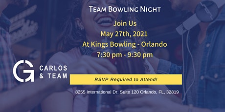 Team Bowling Night! tickets