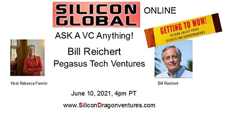 Silicon Global Online: Ask VC Bill Reichert Anything! tickets