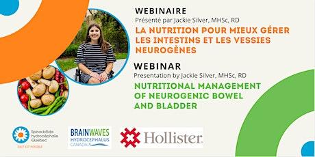 La nutrition pour gérer les intestins et les vessies neurogènes billets