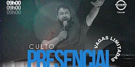Culto Pesencial de Domingo - 16/05 ingressos