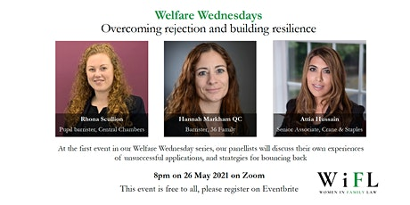 Welfare Wednesday: overcoming rejection tickets