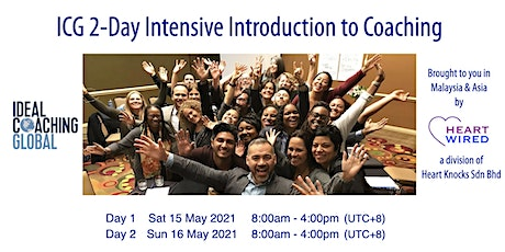 ICG 2-Day Intensive Introduction to Coaching tickets