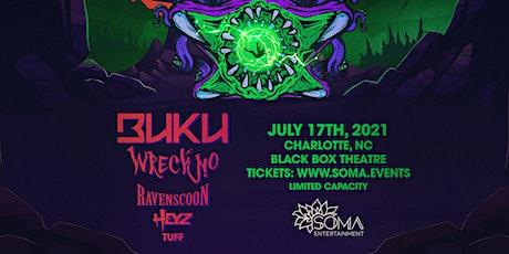 BUKU w/ Wreckno, Ravenscoon & Heyz - Charlotte, NC tickets
