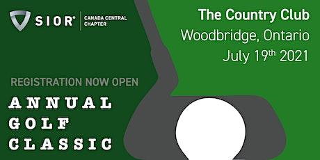 SIOR CCC Annual Golf Classic tickets