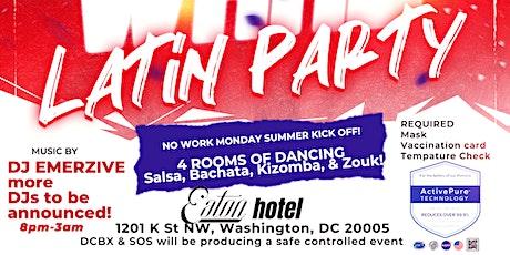 DCBX Summer Memorial Latin Kick Off Party tickets