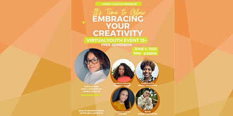 It's Time to Step into Your Glow: Embracing your Creative Energy tickets